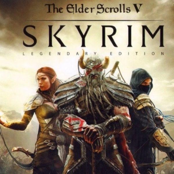 the elder scrolls 5 skyrim legendary edition 600x600 - The Elder Scrolls 5 Skyrim Legendary Edition