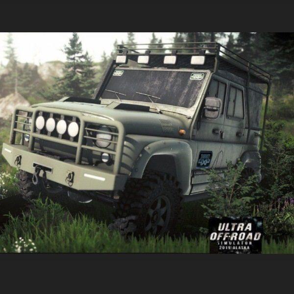 Ultra Off-Road Simulator 2019 Alaska