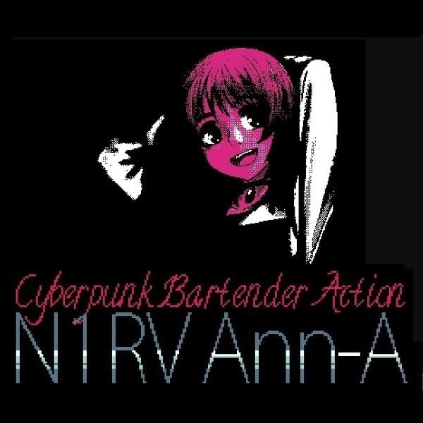 N1RV Ann-A Cyberpunk Bartender Action