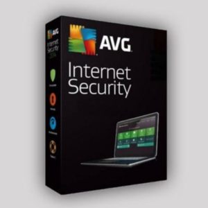 AVG Internet Security 2020-2021 free license for 1 year