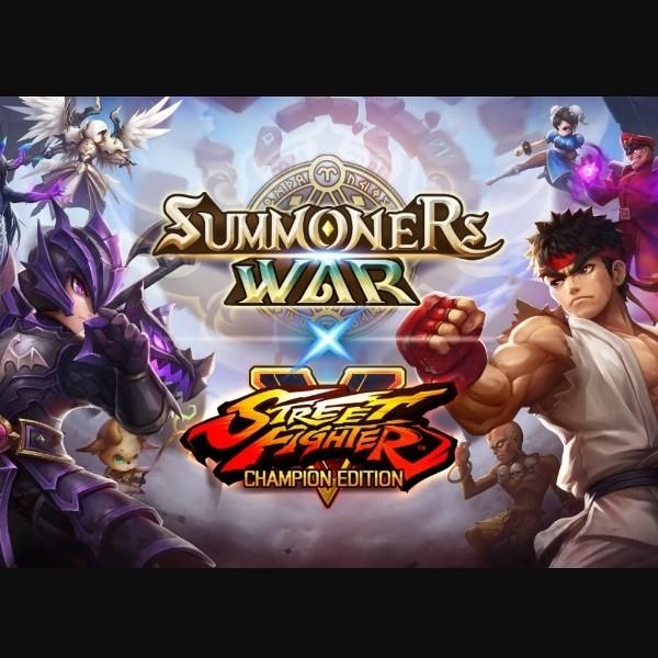 Summoners War x Street Fighter 5