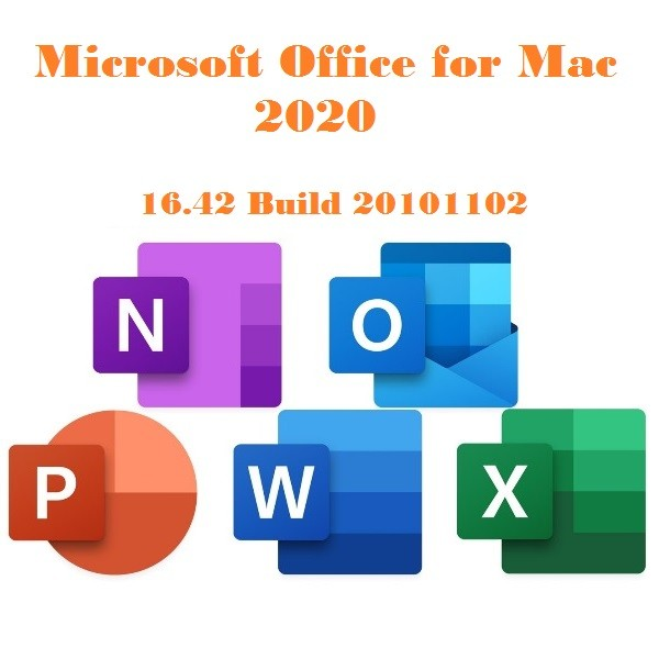 Microsoft Office for Mac 2020 16.42 Build 20101102