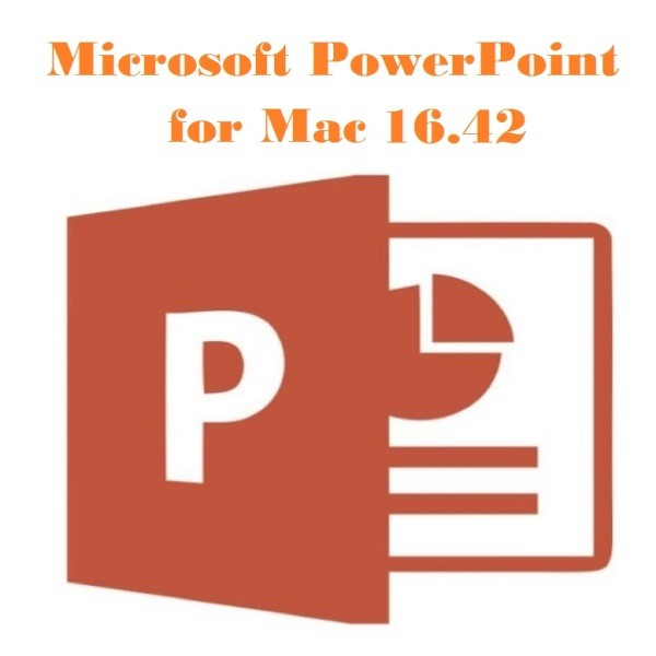 Microsoft PowerPoint for Mac 16.42