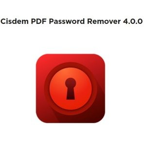 Cisdem PDF Password Remover 4.0.0