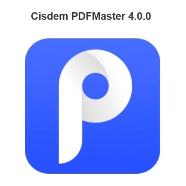 Cisdem PDFMaster 4.0.0
