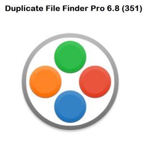 Duplicate File Finder Pro 6.8 (351)