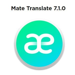 Mate Translate 7.0.1