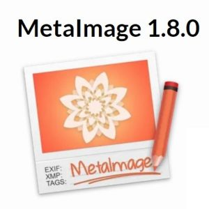 MetaImage 1.8.0