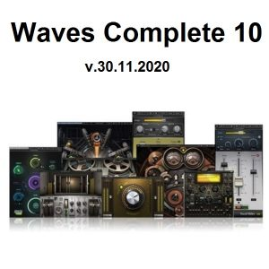 Waves Complete 10 v.30.11.2020