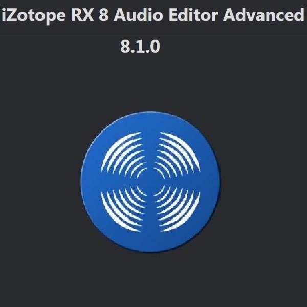 iZotope - RX 8 Advanced Audio Editor 8.1.0