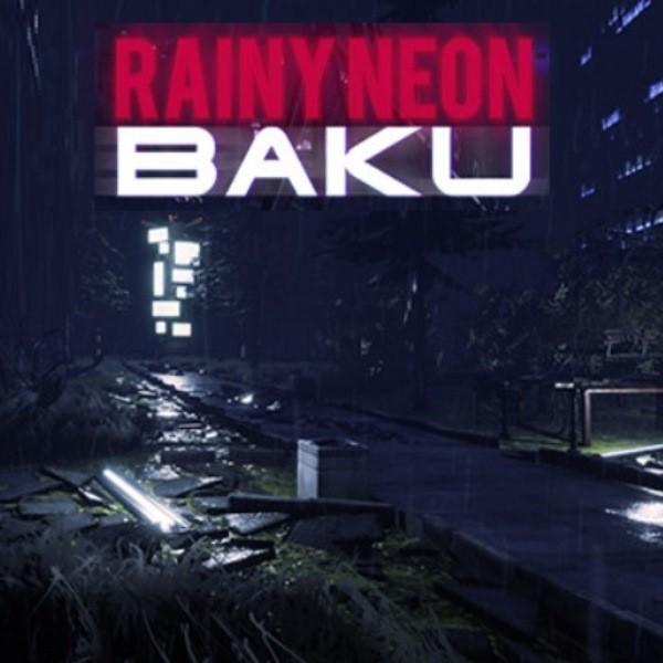Rainy Neon Baku