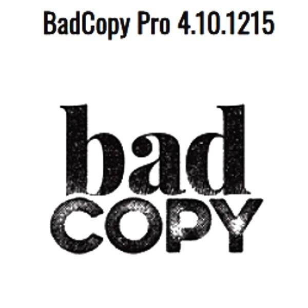 BadCopy Pro 4.10.1215