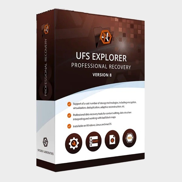 UFS Explorer Professional Recovery 8.2.0.5670